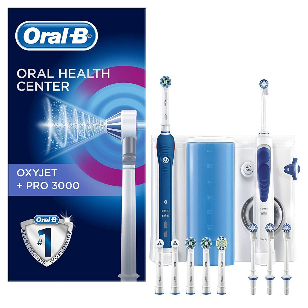 oral b pro 3000 oxyjet test